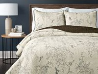hometrends Hummingbird Quilt Set Double/Queen