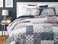 hometrends Patch Quilt Set Double/Queen