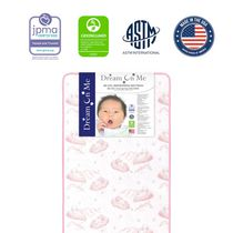 """Dream On Me Twilight 5"""" 80 Coil Spring Crib and Toddler Bed Mattress"""