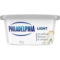 Philadelphia Soft Plain Cream Cheese Light