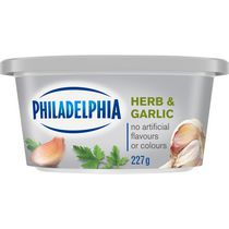 Philadelphia Soft Herb & Garlic Cream Cheese