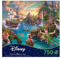 Ceaco – Thomas Kinkade – Collection Disney :  Peter Pan Casse-tête (750 morceaux)