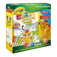 Puzzle de 24  pièces Crayola Color Wonder The Lion Guard Color Your Own
