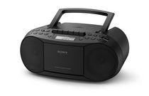 Sony Stereo CD/Cassette Boombox - CFDS70BLK
