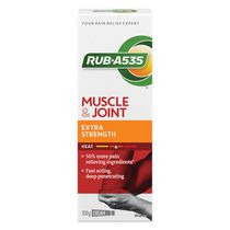 RUB A535 Muscle & Joint Pain Relief Heat Cream, Extra Strength