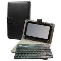 "Top Tech Audio 7"" Android Tablet Bluetooth Keyboard - Black"