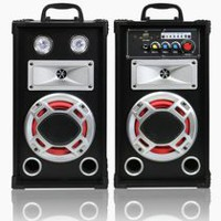 "Top Tech Audio  Fully amplified 1200 watts Peak Power 5"" Speaker Set"