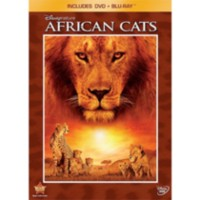 Disneynature : Félins D'Afrique (DVD + Blu-ray) (DVD Amaray)