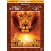 Disneynature: African Cats (DVD + Blu-ray) (DVD Amaray) (Bilingual)