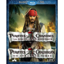 Pirates Of The Caribbean: On Stranger Tides (2-Disc) (Blu-ray + DVD) (BD Amaray) (Bilingual)