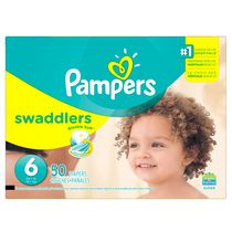 Pampers Couches Swaddlers format Supers