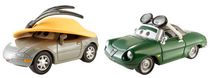 Disney/Pixar Cars Collector Diecast Kimberly Rims and Carinne Cavvy, 2-Pack
