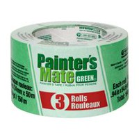 Ruban de Masquage Painter's Mate Green 1 po Paquete de 3
