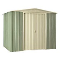 Globel 8' x 6' Steel Storage Shed