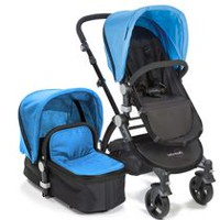 Babyroues Letour II Infant-to-Toddler Bassinet & Stroller System Blue/Black