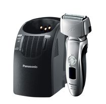Panasonic ESLT71SW Triple Blade Multi-Flex Linear Shaver with Automatic Cleaning & Charging Station