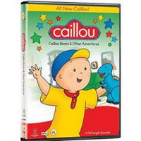 Caillou: Caillou Roars And Other Adventures