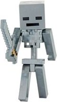 Minecraft - Figurine de base - Squelette Wither attaquant