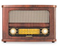 Art & Sound Retro Bluetooth Speaker & FM Radio