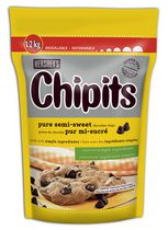 HERSHEY'S CHIPITS Pure Semi-Sweet Chocolate Chips