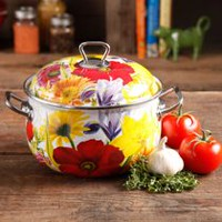 The Pioneer Woman Timeless Beauty 5 Quart Dutch Oven
