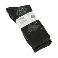 George Men's Crew Socks, 5 Pairs Black