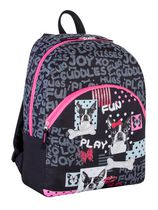 Athletic Works Girls' Fun and Chic Dog Printed Backpack