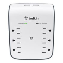 Belkin SurgePlus™  6 Outlet USB Wall Mount Surge Protector