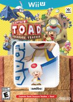 Captain Toad: Treasure Tracker + Toad amiibo (Wii U)