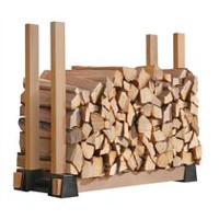 Lumber Rack Firewood Bracket Kit