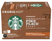Starbucks Pike Place Roast K-Cup Roasted Coffee Pods