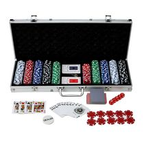 Hathaway Monte Carlo 500-Piece Poker Set