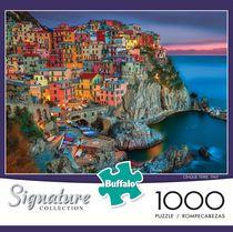 Buffalo Games Le puzzle Signature Collection Cinque Terre en 1000 pièces