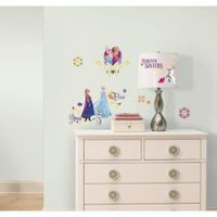 RoomMates Frozen Spring Peel and Stick Wall Decals