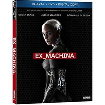 Ex Machina (Blu-ray + DVD + Copie Numérique) (Bilingual)