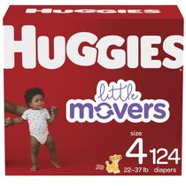 Couches HUGGIES Little Movers, Emballage Mega Colossal