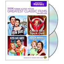 TCM Collection Les Grands Classiques Du Cinéma : Broadway Musicals - Show Boat / Annie Get Your Gun / Seven Brides For Seven Brothers / Kiss Me Kate