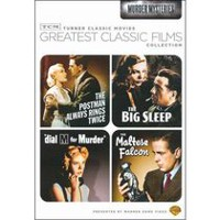 TCM Collection Les Grands Classiques Du Cinéma : Murder Mysteries - The Maltese Falcon / The Big Sleep / Dial M For Murder / The Postman Always Rings Twice
