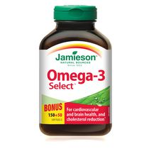 Jamieson Omega-3 Select Softgels, 1,000 mg