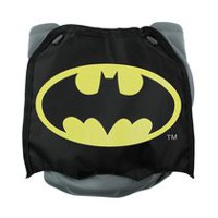 Bumkins DC Comics - Caped Diaper - Reusable Diapers Batman