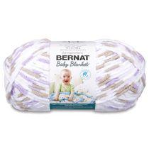 Bernat Baby Blanket Yarn, White, 10.5oz(300g), Super Bulky , Polyester