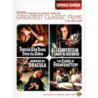TCM Greatest Classic Films Collection: Hammer Horror - Dracula Has Risen From The Grave / Frankenstein Must Be Destroyed / Horror Of Dracula / The Curse Of Frankenstein