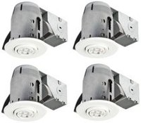 "Globe Electric 3"" IC Rated LED Swivel Spotlight Recessed Lighting Kit"
