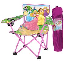 Princess Folding Camp Chair with Tote