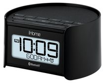 iHome Bluetooth Bedside Dual Alarm Clock Radio with Speakerphone - iBT230