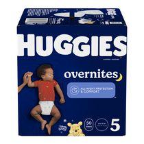 HUGGIES OverNites Diapers, Giga Pack
