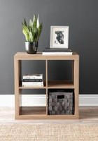 "hometrends 2 x 2"" Rustic Hollow Core Cube Display Shelf"