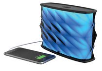 iHome Splashproof Color Changing Rechargeable Bluetooth Stereo Speaker - iBT84