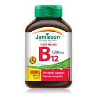 Jamieson Vitamin B12 1,200 mcg Timed Release Tablets