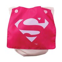 Bumkins DC Comics - Caped Diaper - Supergirl - Reusable Diapers